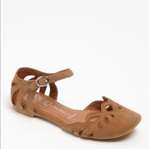 Jeffrey Campbell Cinda Leather Flats